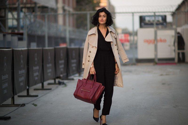 Zwarte broek en jas
