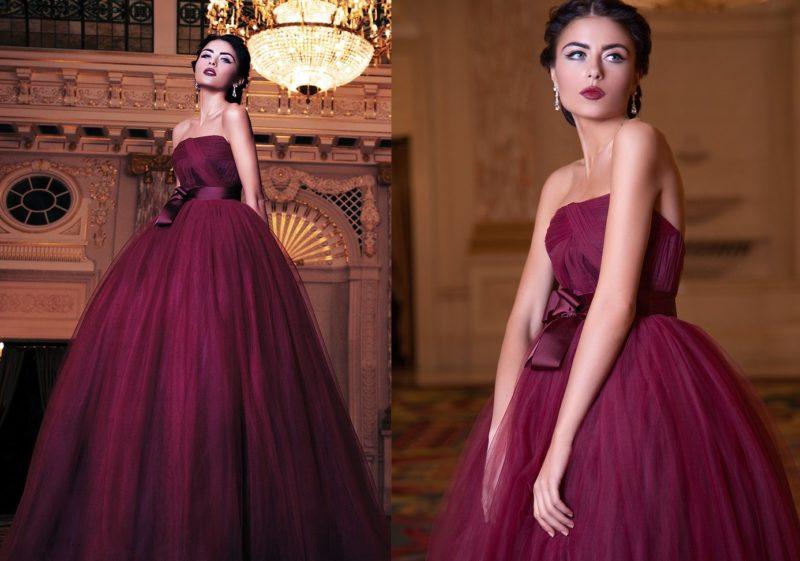 Marsala-jurk
