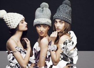 Chapeaux tricotés à la mode