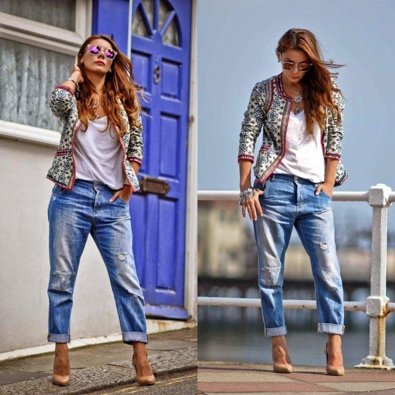 Een avondlook in stijlvolle jeans