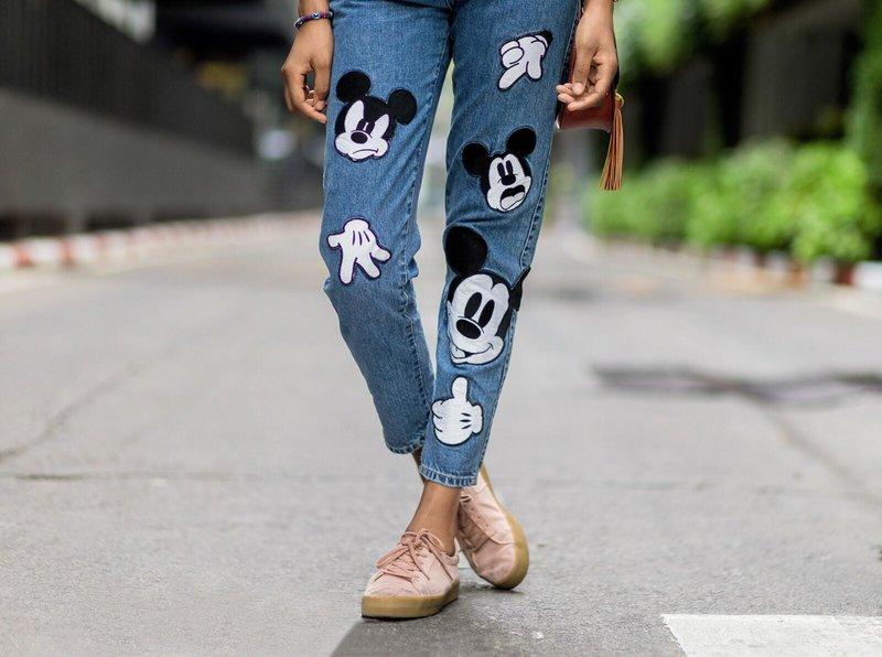 Jeans met extra decor: stijlvol uiterlijk