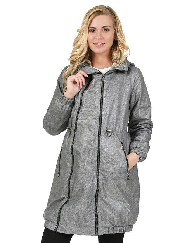 Demi-seizoen jas voor een zwangere vrouw