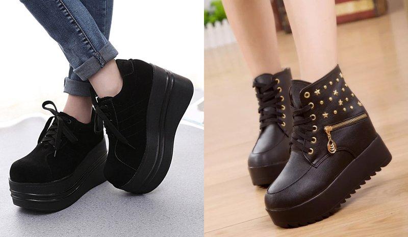Masyvūs moteriški batai
