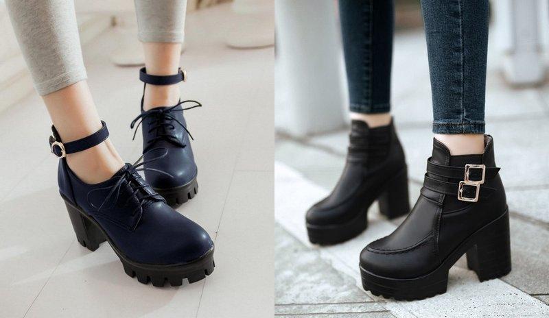 Masyvūs batai rudeniui