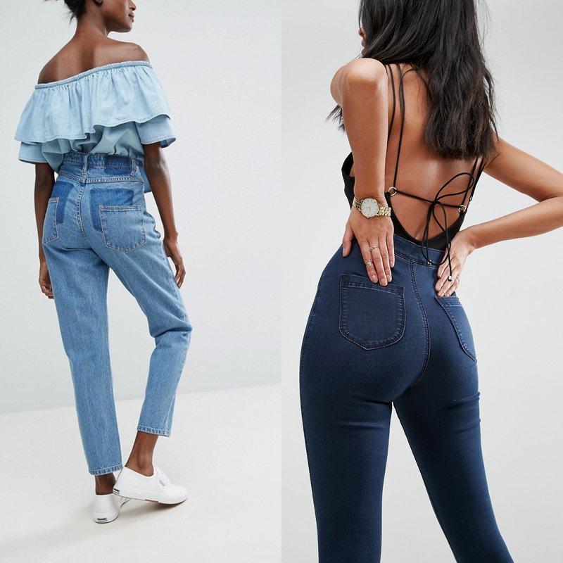 Jeans met hoge taille: nieuw 2019