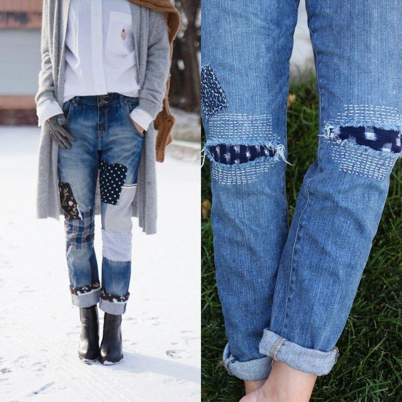 Stijlvolle jeans met decor