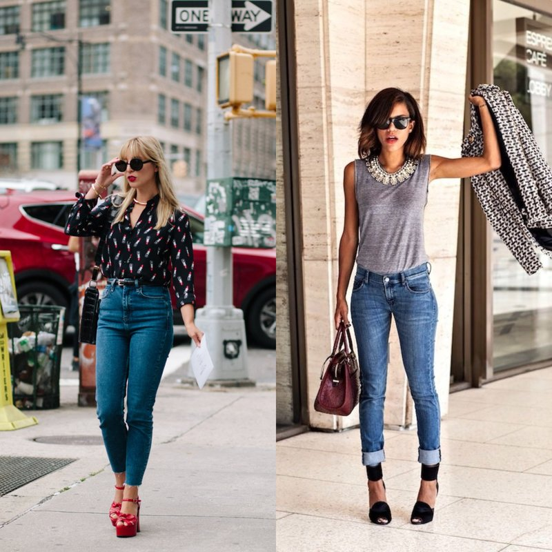 Hoe skinny jeans te dragen?