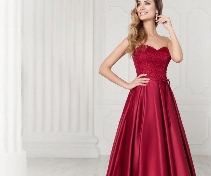 Elegante rode jurk