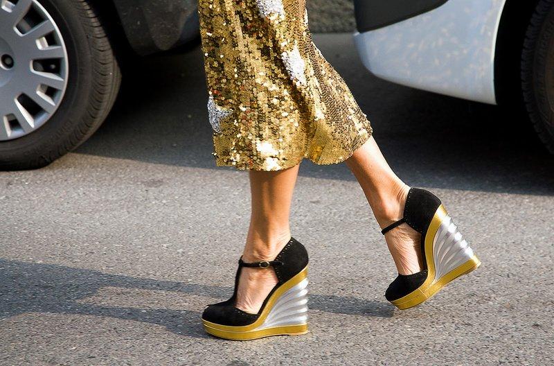 Įdomus batų modelis