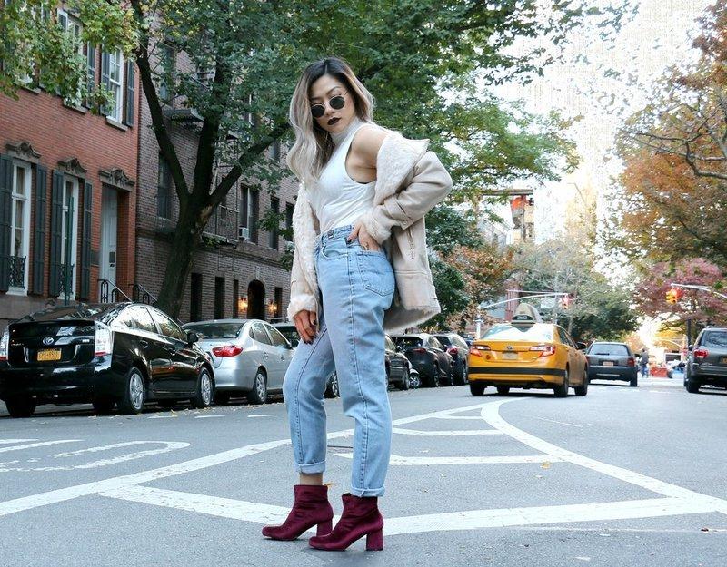 Moms jeans: modetrends