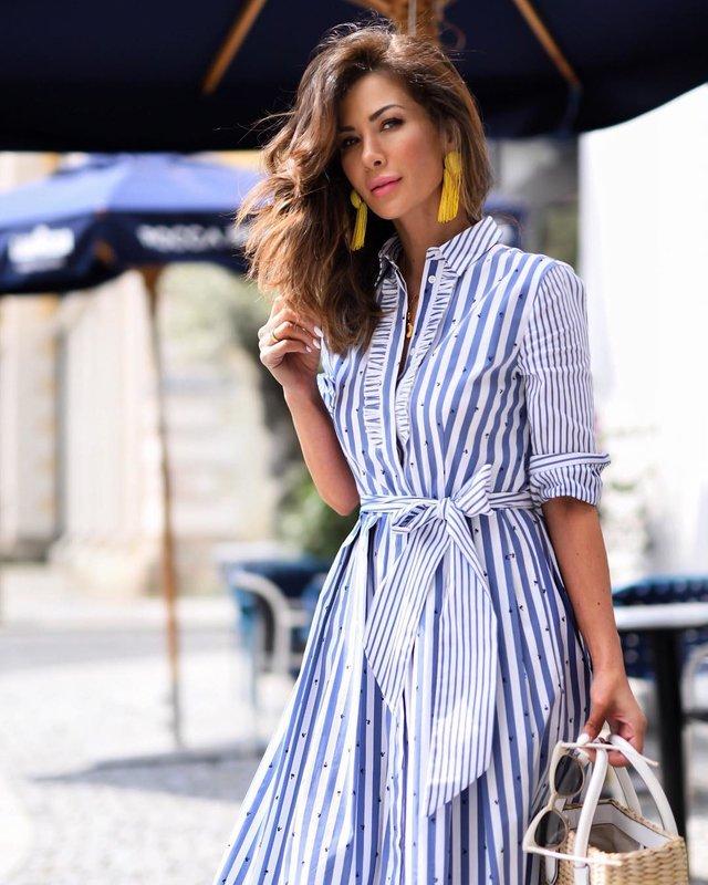 Marškinių suknelė