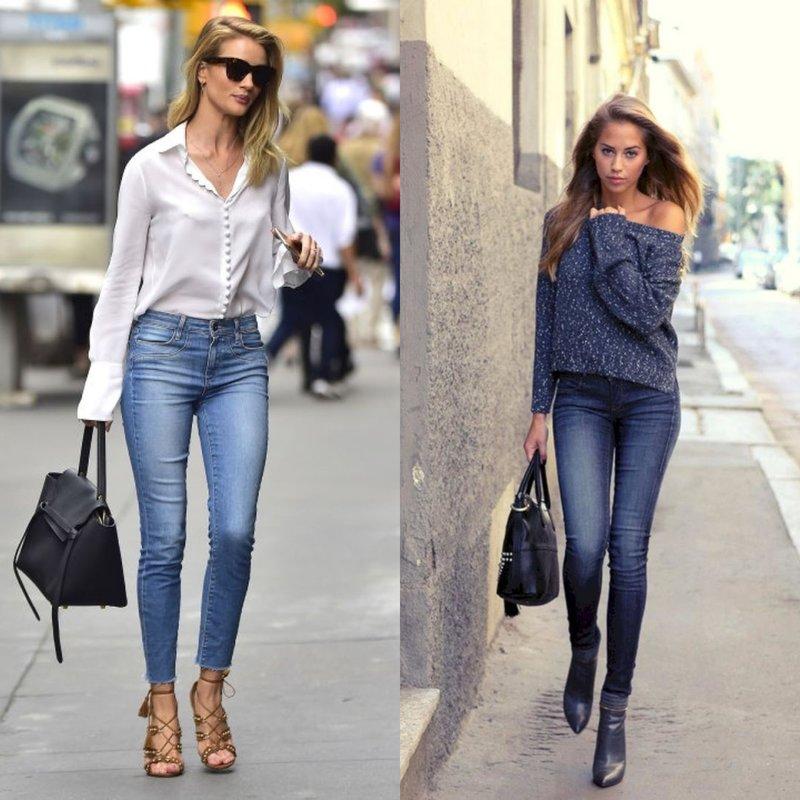 Modieuze skinny jeans