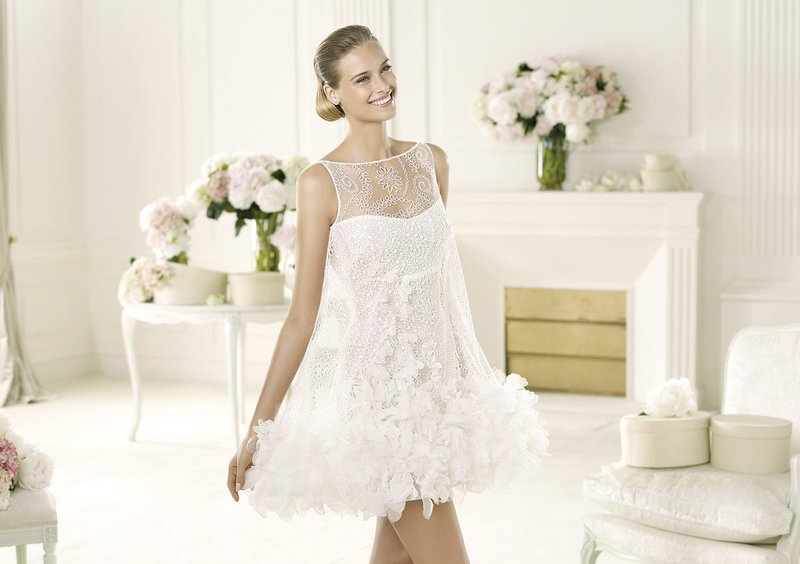 Tweelaagse jurk