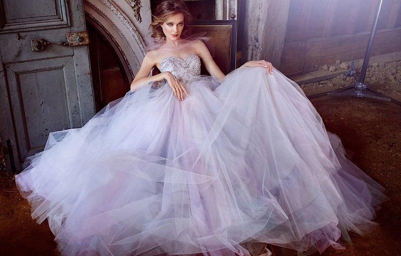 Lila jurk