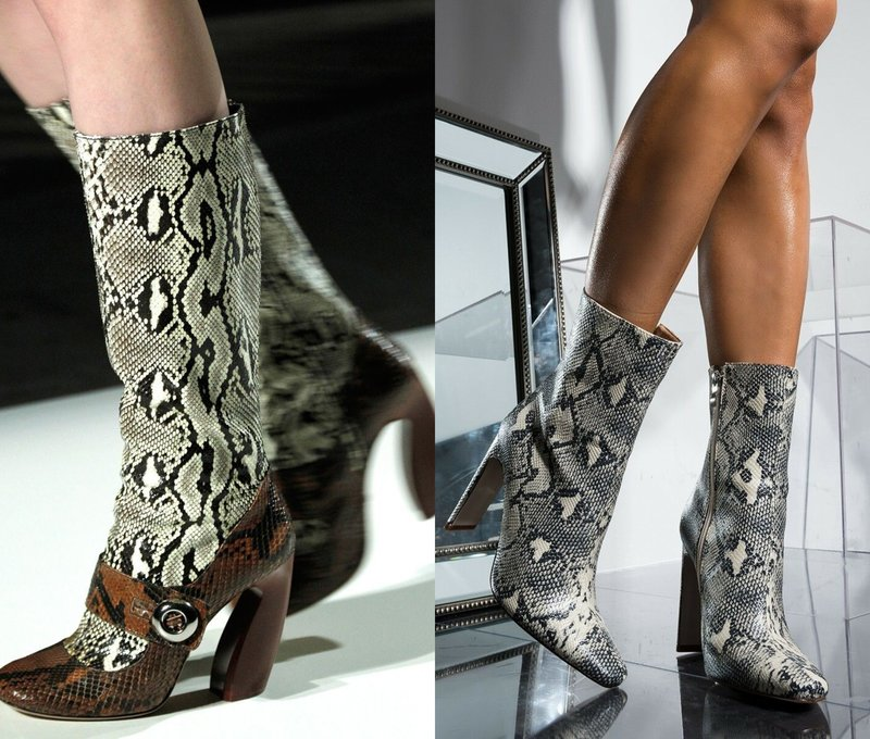 Roplių odos rudeniniai žieminiai batai