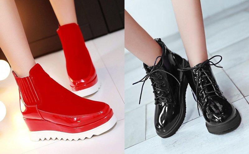 Lakinės odos batų modeliai