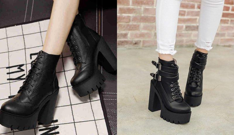 Masyvūs moteriškų batų modeliai rudenį-žiemą