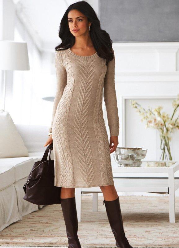 Wollen jurk direct naaien