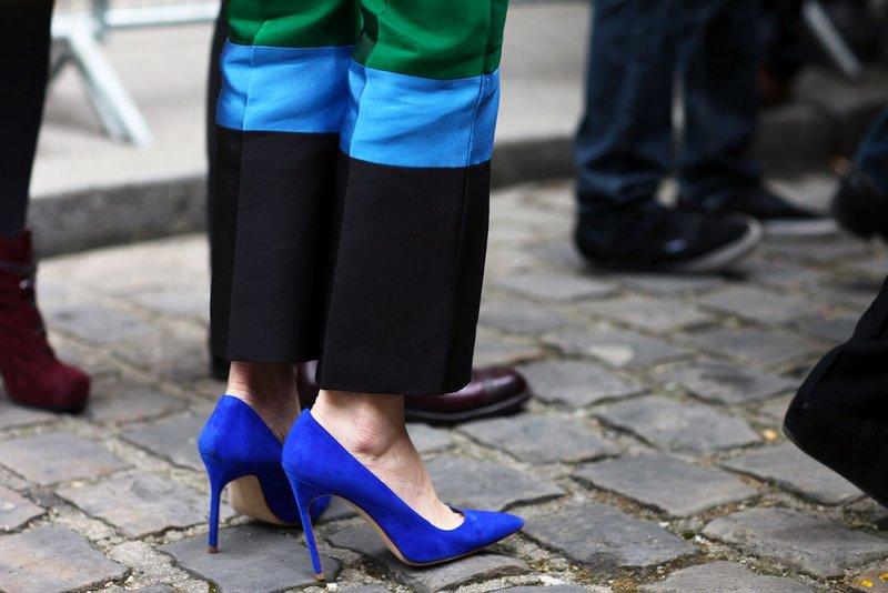 Karališki mėlyni batai