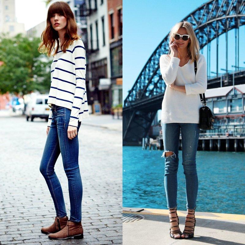 Mooie skinny jeans voor dames