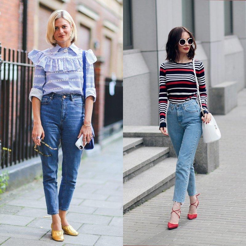 Modellen Moms Jeans