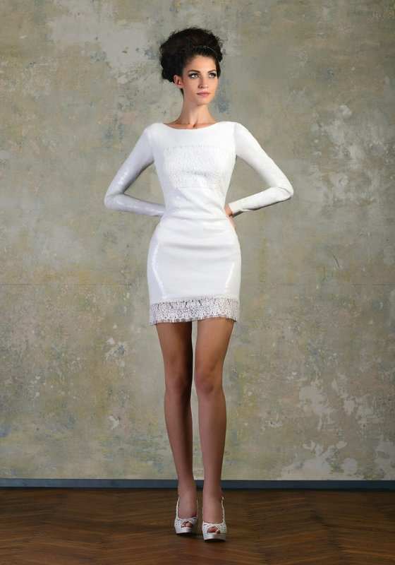 Ultra korte jurk