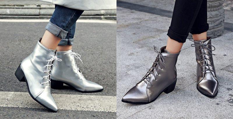 Modeliai stilingi batai su smailia koja