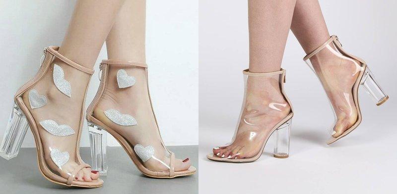 Skaidrūs batai