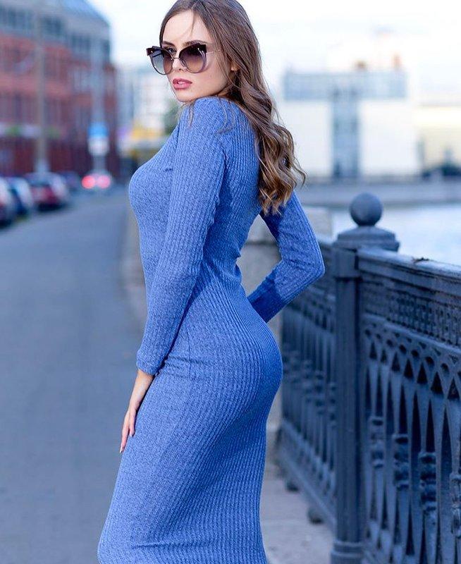 Graži žiemiška suknelė