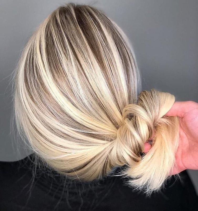 Balayazh op blond haar