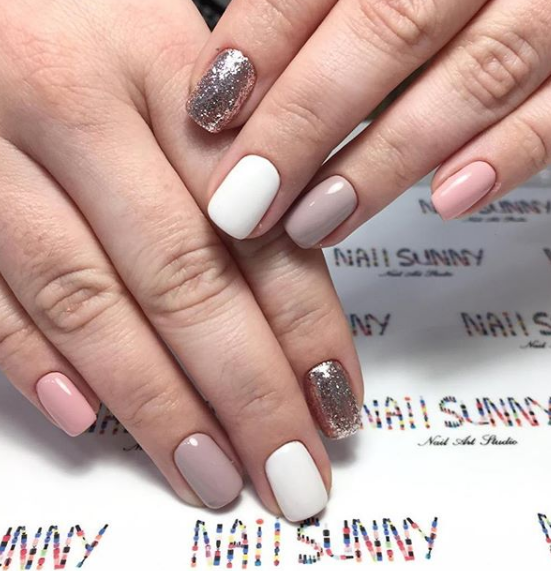 Lente manicure