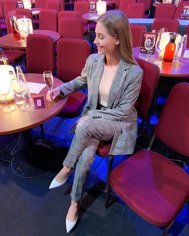 Christina Asmus kwam naar de Comedy Club