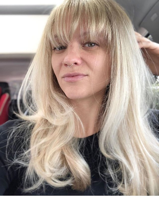 Extra lang krijt en blond