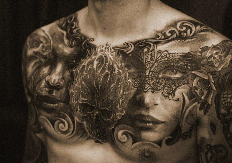 Realus tatuiruotė