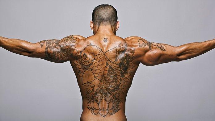 Mados tatuiruotės vyrams