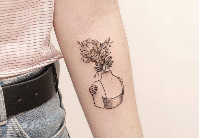 Šiuolaikiškos madingos tatuiruotės