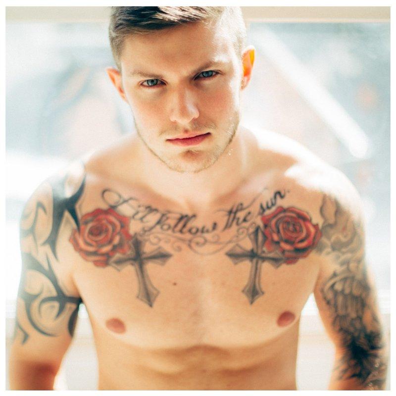 """""""Clavicle"""" tatuiruotė"""