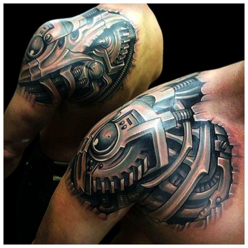 Biomechanikos tatuiruotė