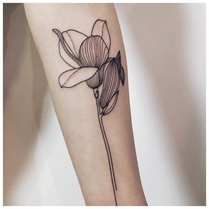 Fleur de linwork