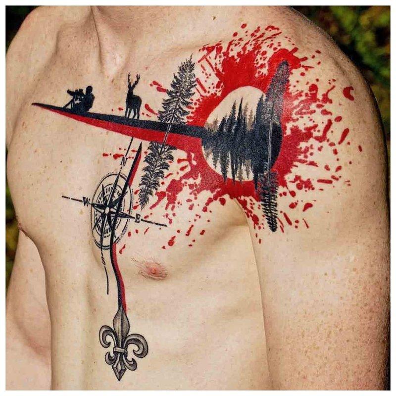 Thrash polka tattoo