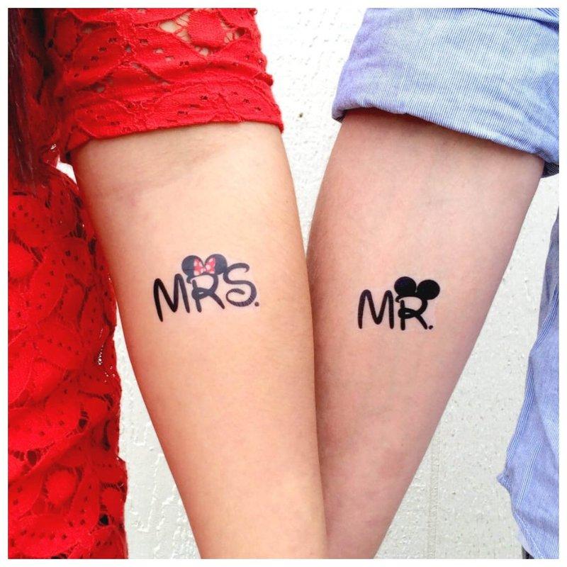 Pora tatuiruotė ant rankos