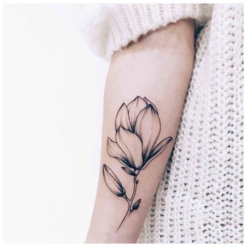 Minimalistinė gėlė