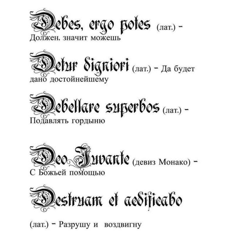 Lotynų raidžių eskizai