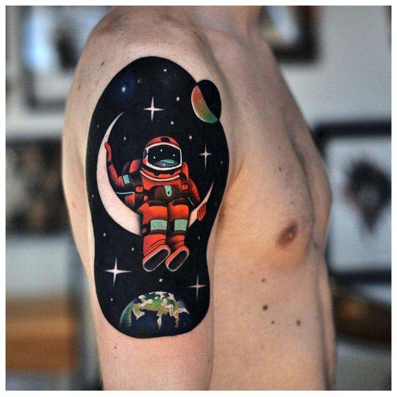 Spalvos astronautas