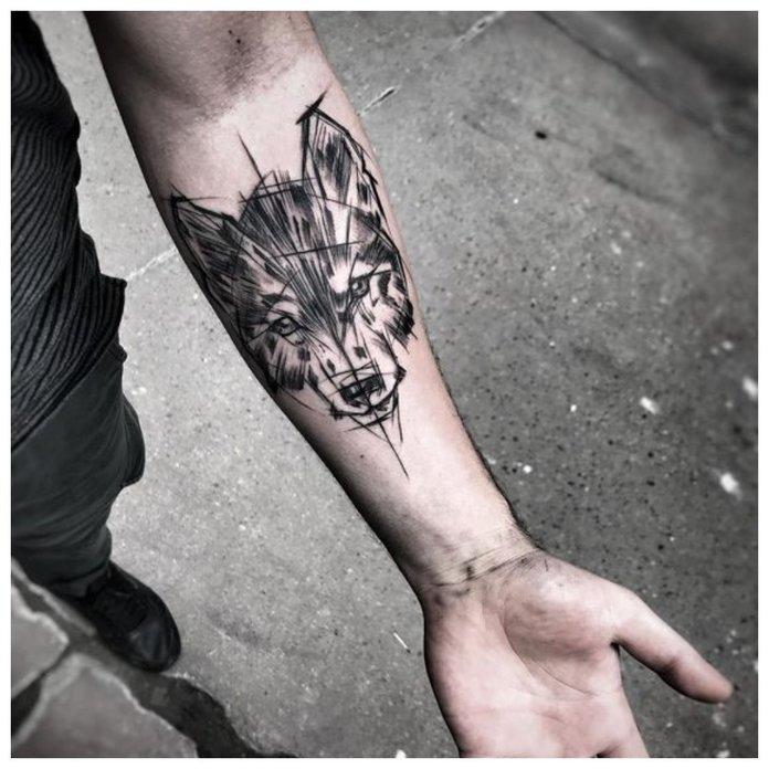 Tamo Gdje Je Modno Napraviti Tetovazu Vuka Za Muskarce Ideje