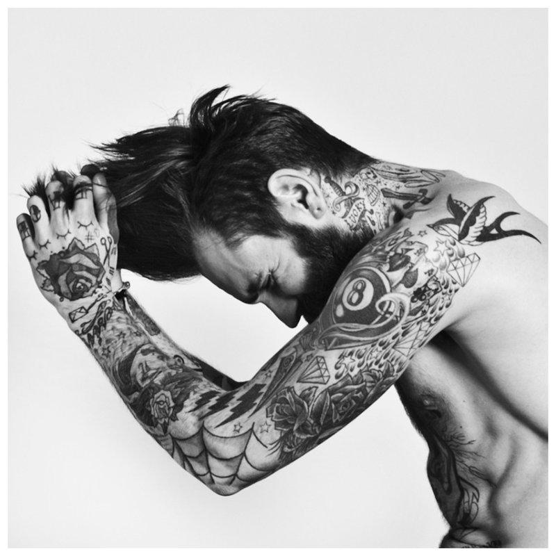 Skirtingų stilių tatuiruotės