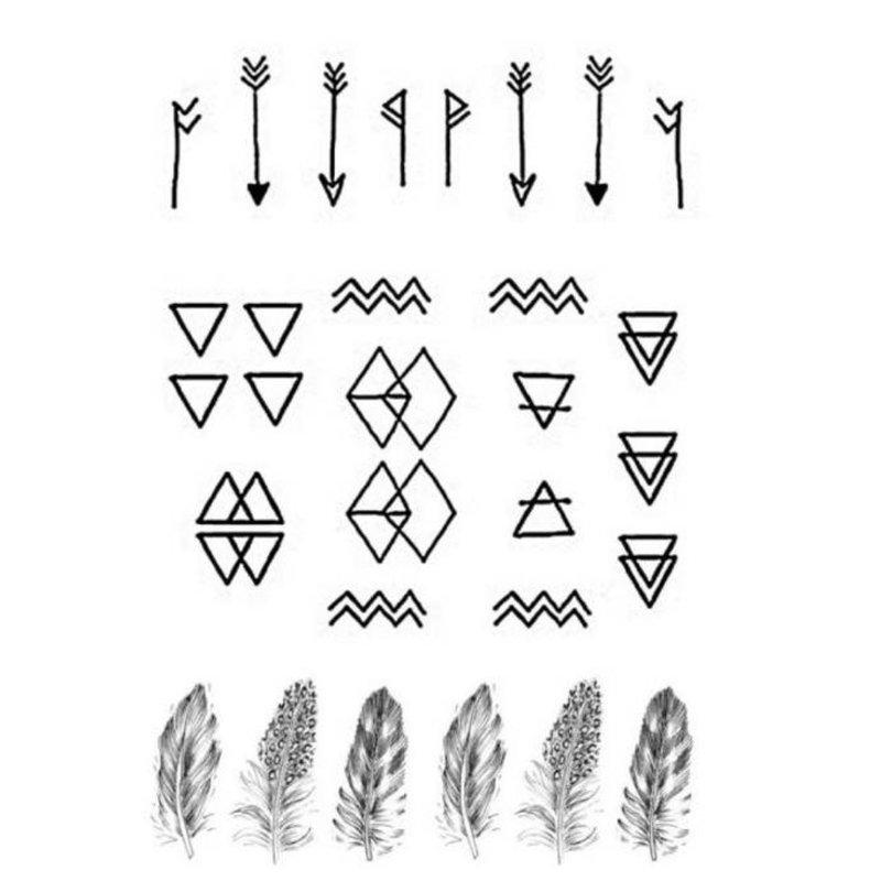 Riešo tatuiruočių lengvi eskizai