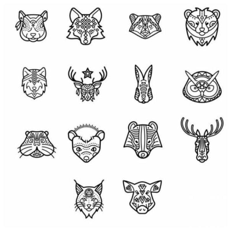 Tatuiruočių eskizai