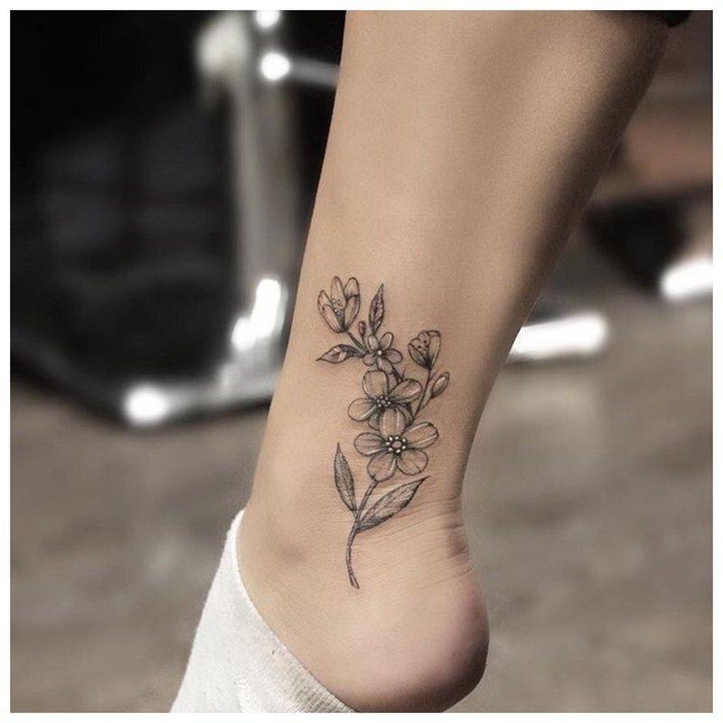 Subtili kulkšnies gėlė