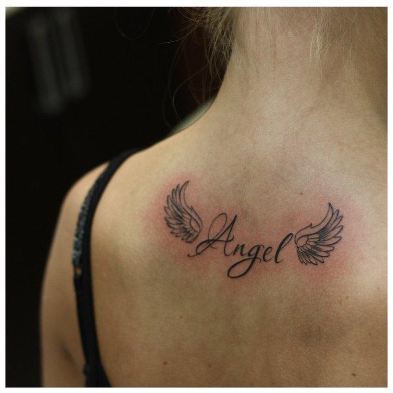 Laiškas Angelas sparnais.